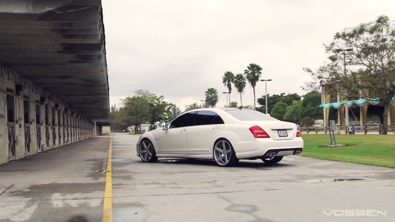 Mercedes Benz S63 Amg On 22 Quot Vossen Vvs Cv3 Concave Wheels