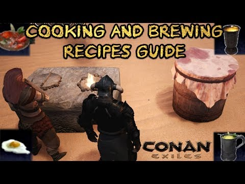 Cooking And Brewing Recipes Guide (Including Map Locations!) | CONAN EXILES