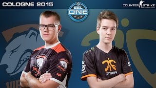 CS:GO - Virtus.Pro vs. Fnatic [Mirage] - ESL One Cologne 2015 - Semifinal Map 1