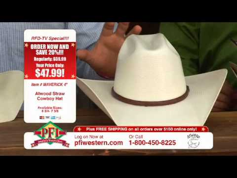 779a8a9a5b3d7 Atwood Straw Cowboy Hats - YouTube