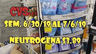 CVS NEUTROGENA $3.89 Y MÁS...😉👍😘 Term. 7/6/19