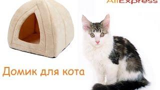 Обзор домика для кота с Aliexpress