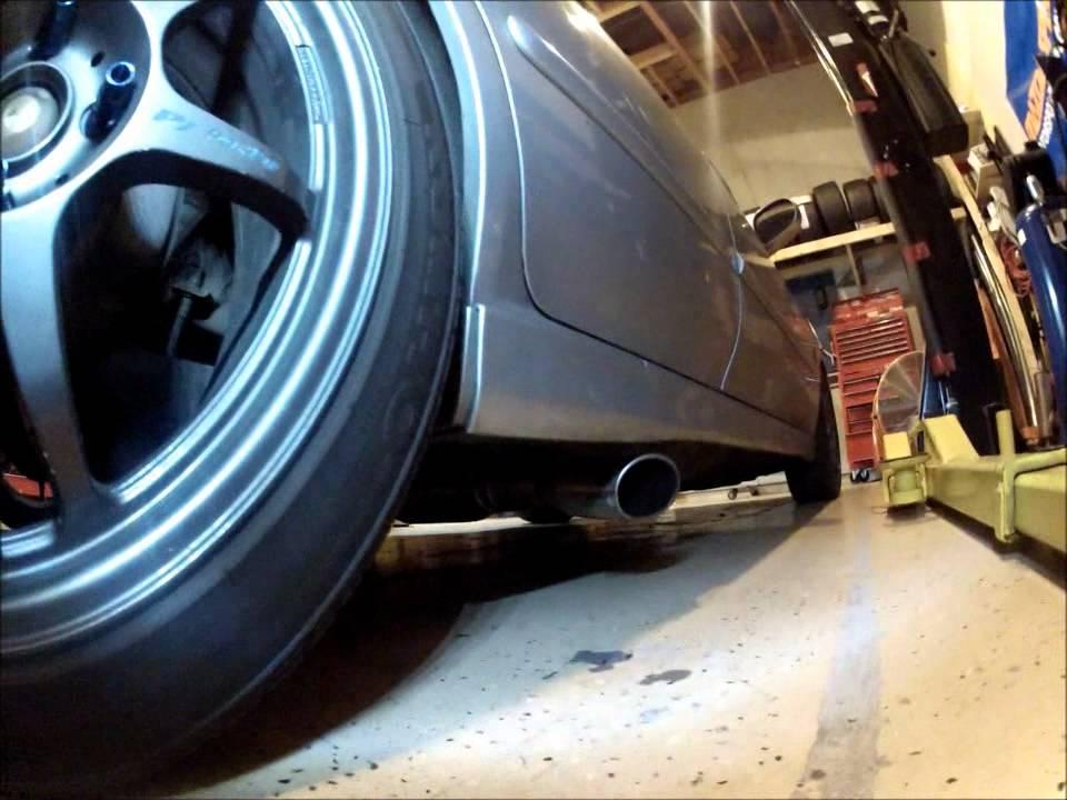 2J-Racing Sentra Spec-V Side Exit Exhaust - Sound Clip ...