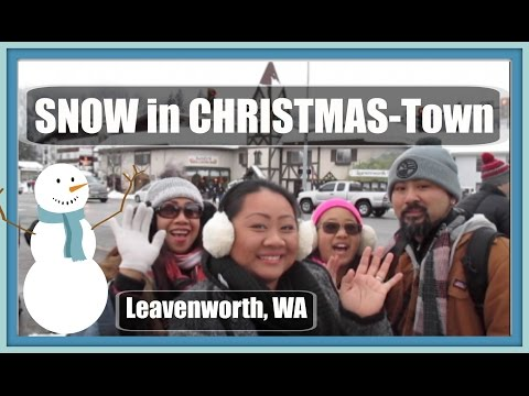 Vlog: Snow in Christmas-Town | Leavenworth, WA
