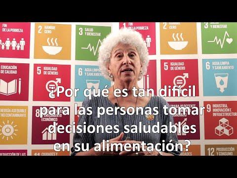 Marion Nestle en FAO: por qué son difíciles las decisiones saludables