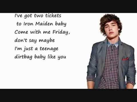 Teenage Dirtbag-One Direction Cover (Lyrics - YouTube