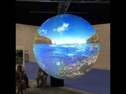 Science on a Sphere: Virtual Visit to US Marine National Monuments and Sanctuaries