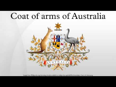 Coat Of Arms Of Australia Youtube