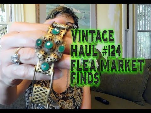 Diggin' with Dirty Girl S7E14 Vintage Haul #124 Flea Market Finds