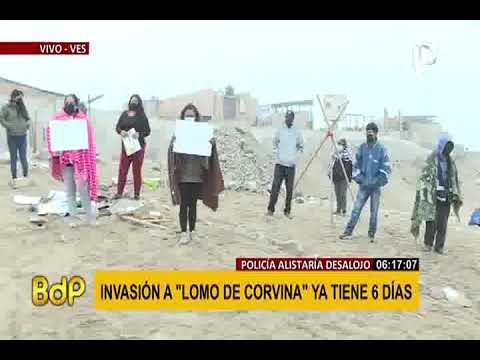 """Invasión en """"Loma"""