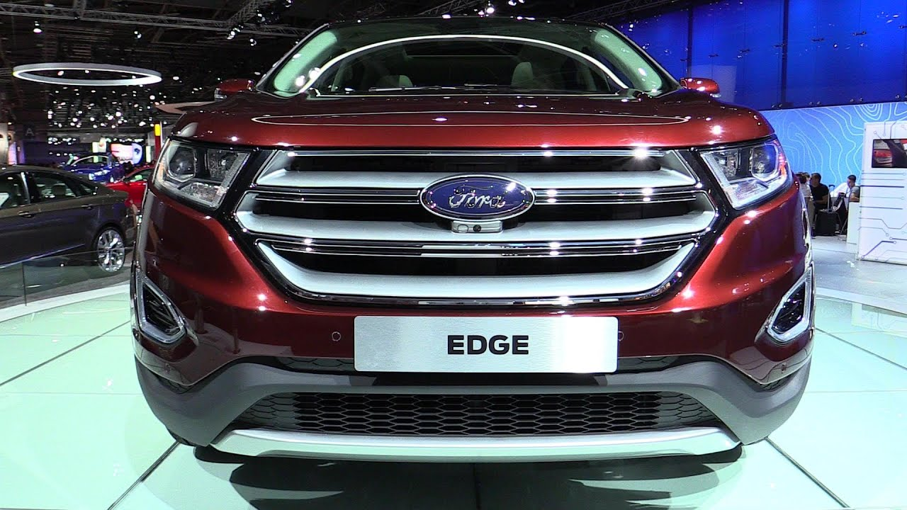 2015 Ford Edge Exterior And Interior Walkaround 2014