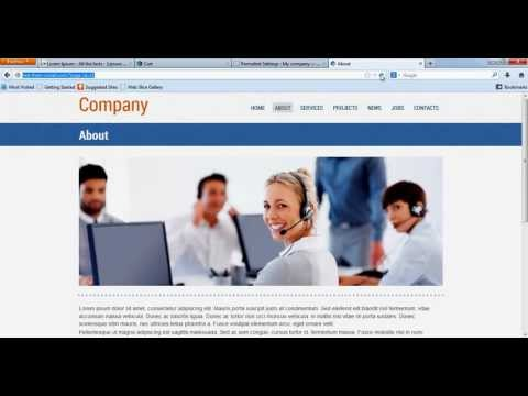 Create a Business Presentation website for multiple directory marketing, import export  ...