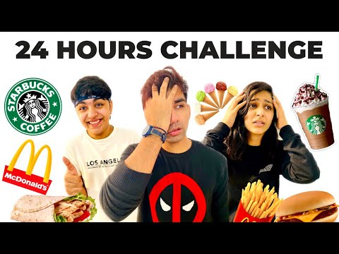 Letting The Person In Front of Me Decide What I Eat for 24 Hours | Rimorav Vlogs