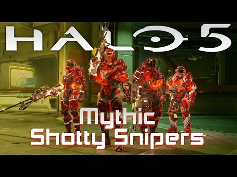 Halo 5 | Mythic Shotty Snipers on Plaza