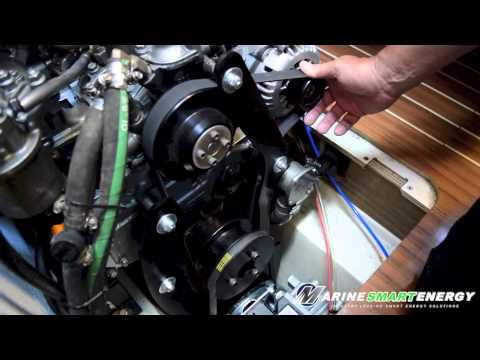 Install Engine Driven Aquamaax Marine Watermaker