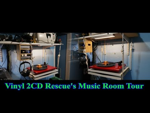 Vinyl 2CD Rescue's Music Room Tour Jan 2018
