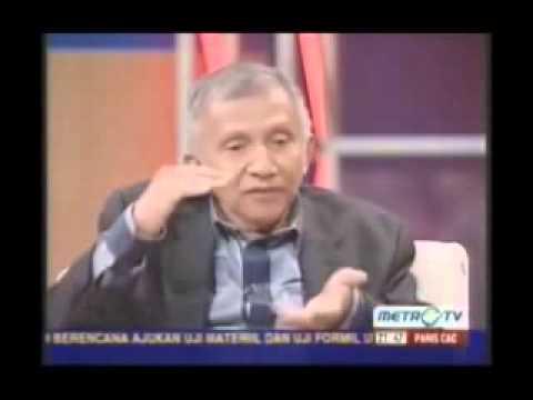 Pernyataan Amin Rais ttg Papua Merdeka di Metro TV