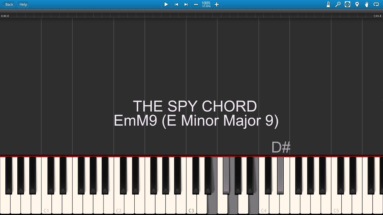 The Spy Chord James Bond Youtube