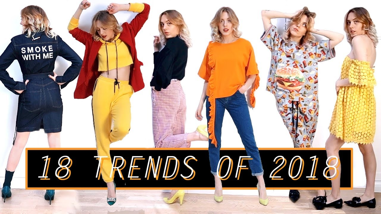 699e8db849ba 18 Hottest Trends of 2018 ⋆ What To Wear in Spring Summer  - YouTube
