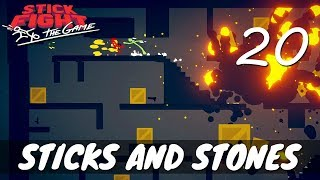 [20] Sticks and Stones (Let's Play Stick Fight: The Game w/ GaLm and friends)