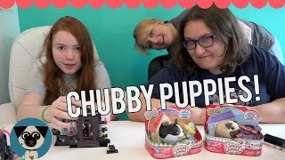 Chubby Puppies & Birthday Gifts With Mommy & Gracie!!!