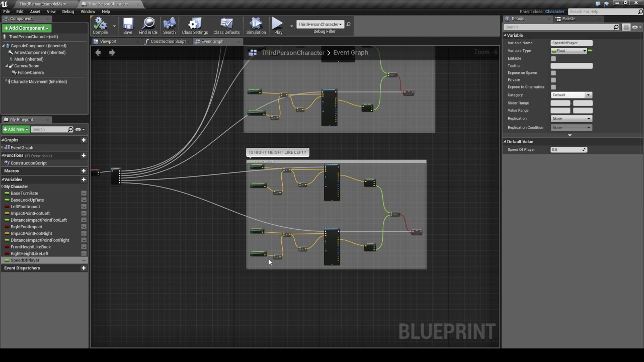 Ue4 ik feet to ground 03 speed of the player youtube ue4 ik feet to ground 03 speed of the player malvernweather Image collections
