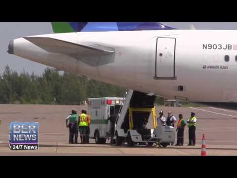JetBlue Flight Diverts To Bermuda, August 20 2014
