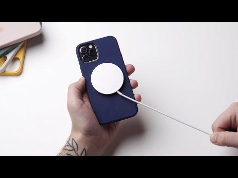 Аксессуары MagSafe: Обзор беспроводной зарядки и оригинальных чехлов для iPhone 12