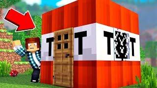 Minecraft: MORANDO DENTRO DE UMA TNT !!