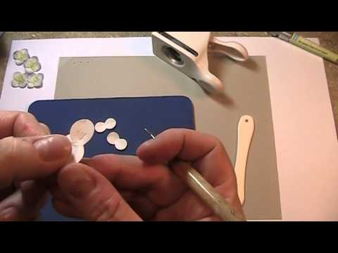 How to Make Paper Hydrangea Tutorial