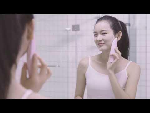 【現貨-免運費!台灣寄出 實拍+用給你看】電動按摩洗臉機 按摩洗臉機 臉部按摩 洗臉器 潔面儀 洗面乳 毛孔清潔
