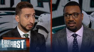 Eagles need Carson Wentz to play better, expect Pats to dominate Bengals | NFL | FIRST THINGS FIRST