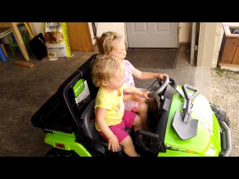 Cameron & Kendall's Power Wheels Arctic Cat