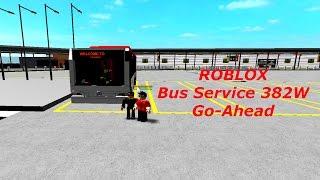 ROBLOX (G-AS) Service de bus 382W (Pungool Bus Interchange)