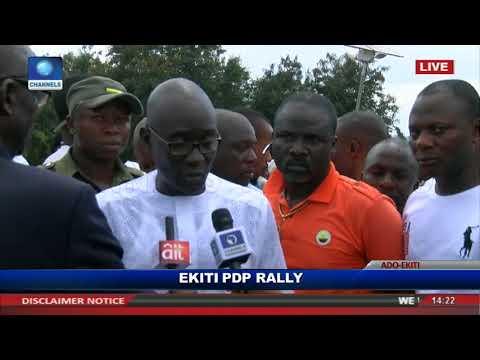 Ekiti Election How Police Kicked, Slapped Me And Gov Fayose - Eleka