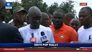 Ekiti Election How Police Kicked, Slapped Me And Gov Fayose - Eleka
