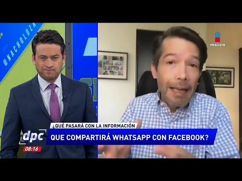 La información que compartirá Whatsapp a Facebook | De Pisa y Corre
