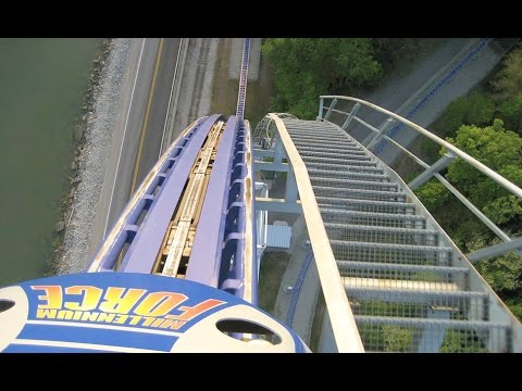 Millennium Force POV Cedar Point (HD) Giga Roller Coaster - TheCoasterViews  - rkHDRgFavHM -