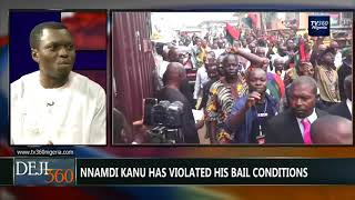 DEJI360 EP 175 Part 2: Army, Police deny invasion of Nnamdi Kanu's home (Nigerian News)