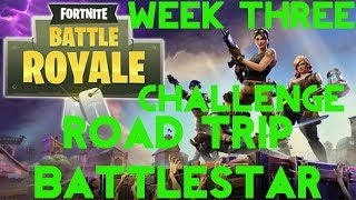Fortnite Battle Royale - France Saison 5 Semaine 3 Challenge (fr) Road Trip Secret Battle Star Guide de localisation