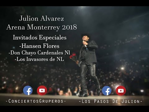 JULION ALVAREZ ARENA MONTERREY 2018
