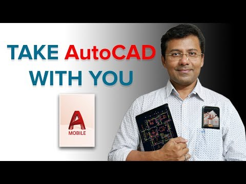 AUTOCAD MOBILE APP | AUTOCAD WEB APP | TAKE AUTOCAD WITH YOU
