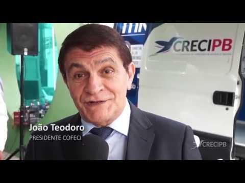 Confira o vídeo da entrega da unidade móvel CRECI Itinerante, que aconteceu em João Pessoa/PB, no último dia 09 de Abril na sede do CRECI-PB