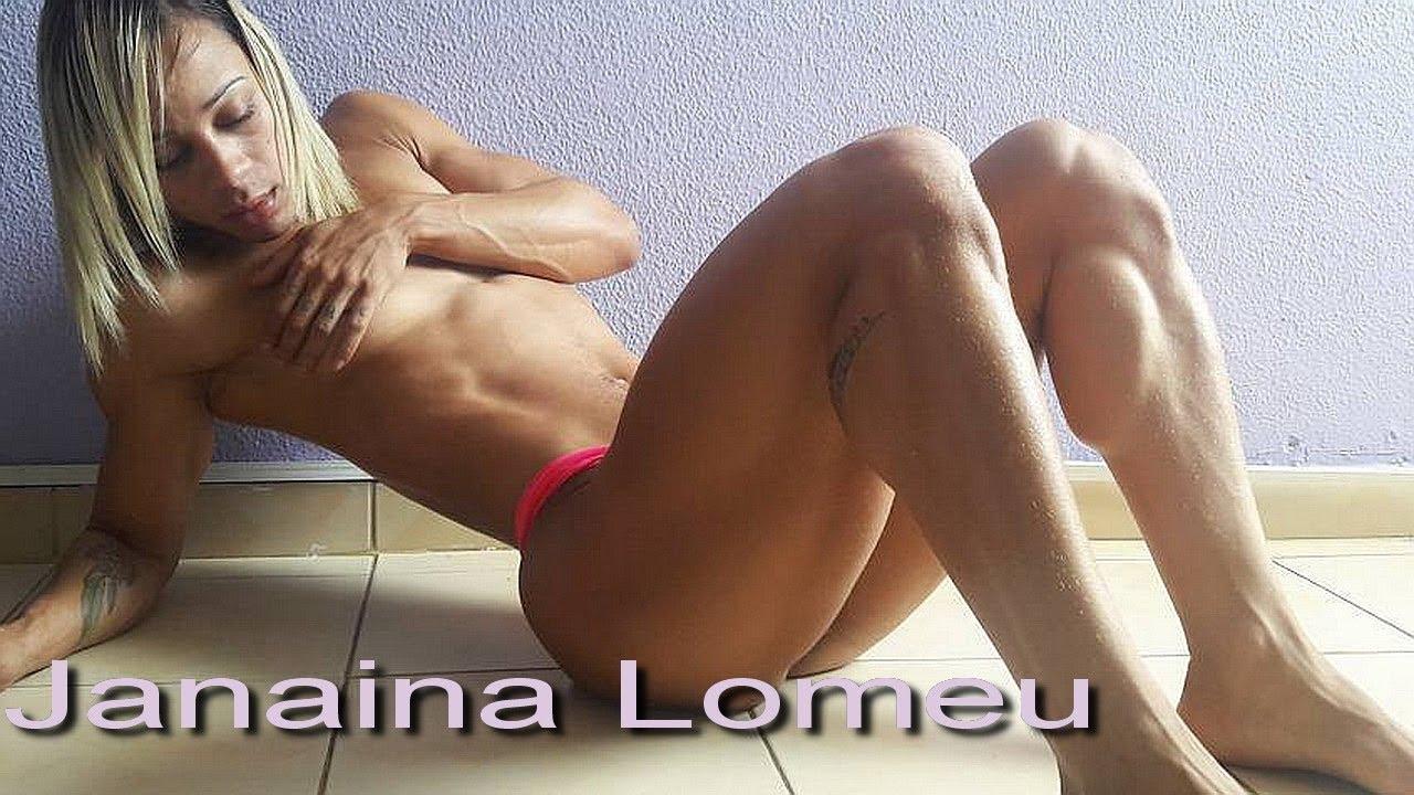 Want muscular female butt