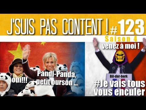 J'SUIS PAS CONTENT ! #123 : Black Friday, Brigitte le Panda & Bilderberg !