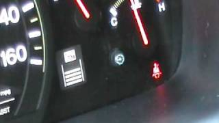 how to reset honda maint reqd light