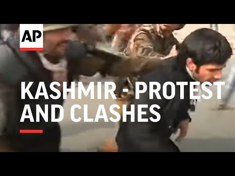Clashes as police try to stop religious gathering
