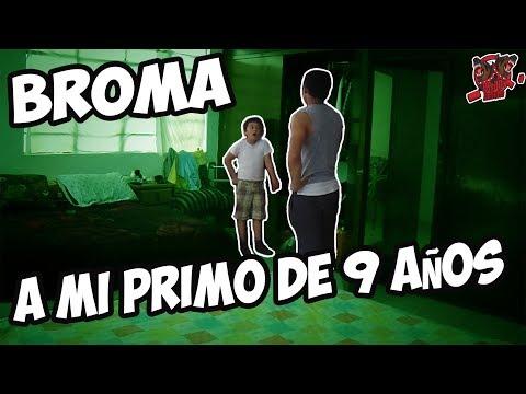 BROMA A MI PRIMO DE 9 AÑOS SOY GAY *DAME UN BESO* / NENUKO