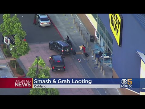 Hundreds Of Looters Target Shops In Emeryville