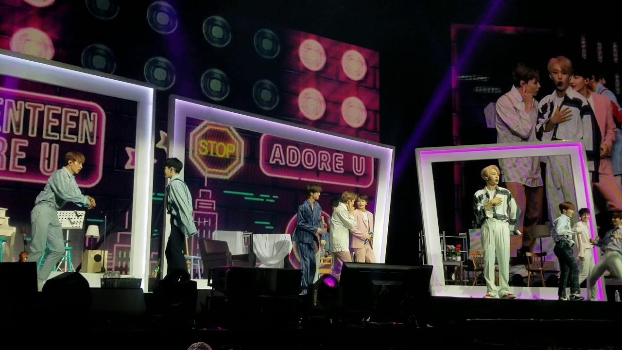 Adore Los Angeles seventeen - adore u (ode to you tour) @ los angeles 20.01.19